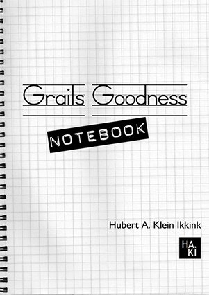 Grails Goodness Notebook