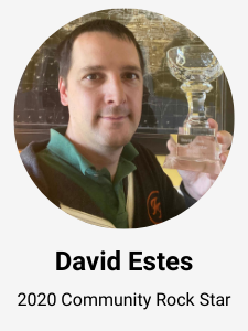 David Estes - 2020 Grails Rock Star Award