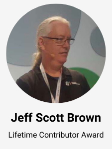 Jeff Scott Brown - Grails framework lifetime contributor Award